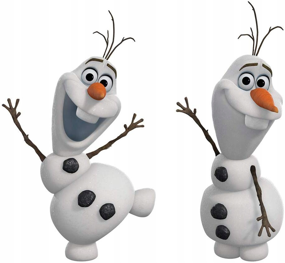 FROZEN KRAINA I LODU OLAF samolepka na stenu 13x2x27