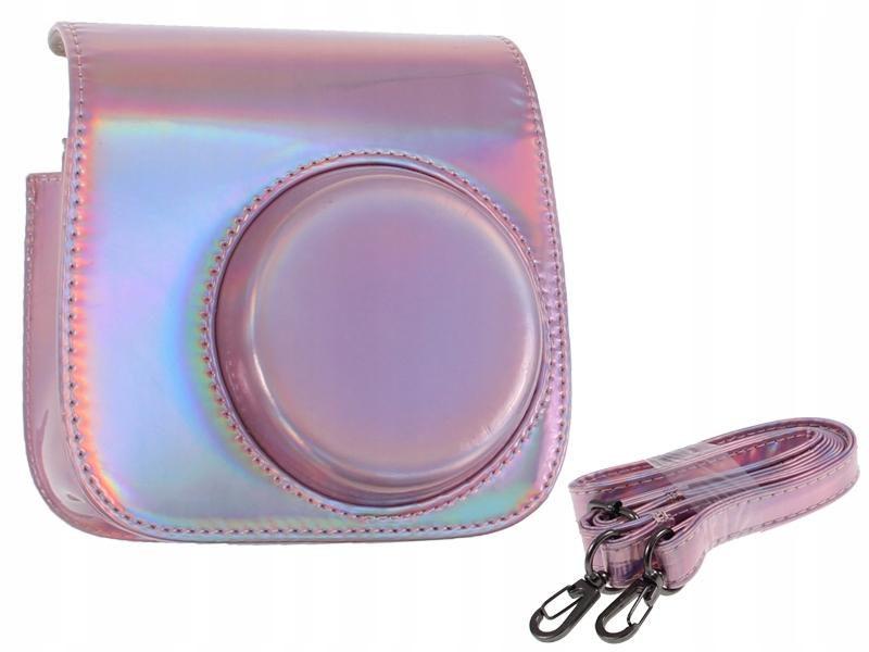 Púzdro na FUJI INSTAX Mini 8 9 Retro ružové