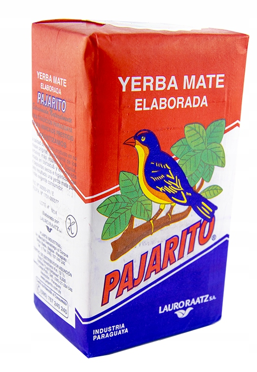 Yerba mate Pajarito - 1kg Klasyczna z Paragwaju!