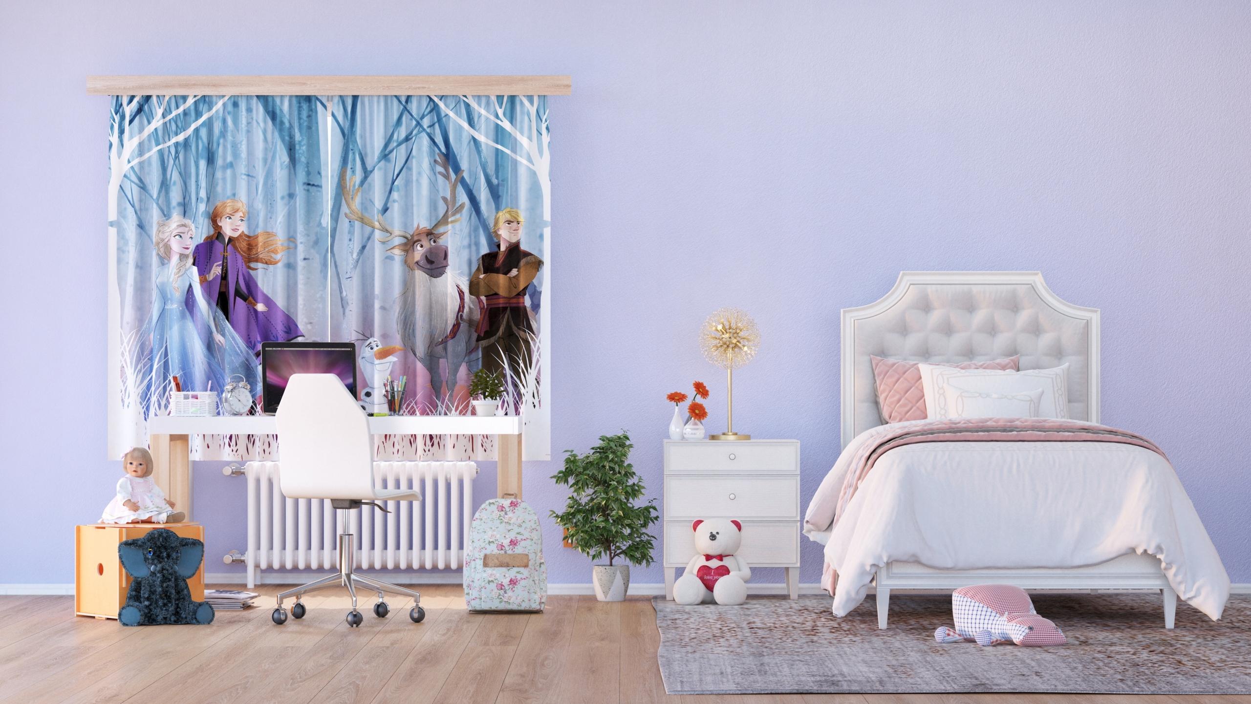 Záves Disney Frozen 2, dizajn 180 x 160 -AG