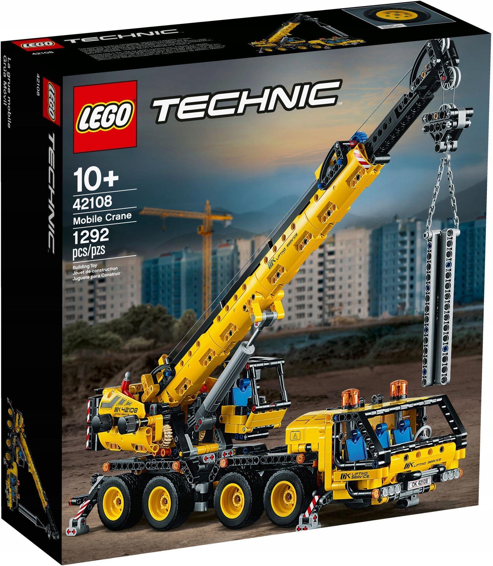 LEGO TECHNIC Żuraw samochodowy 42108
