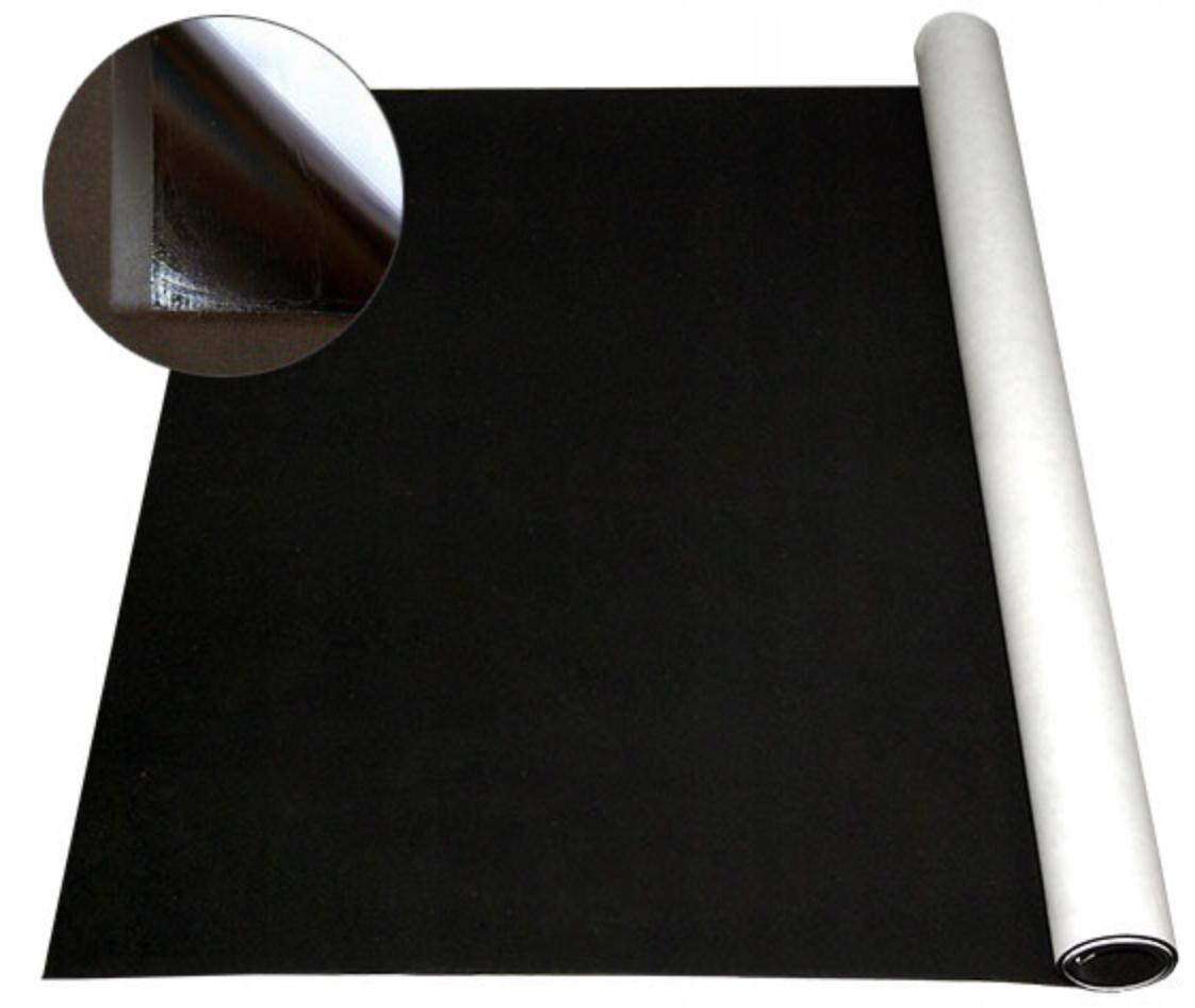 Mikroguma, guma spieniona z klejem 6mm 1000x500mm