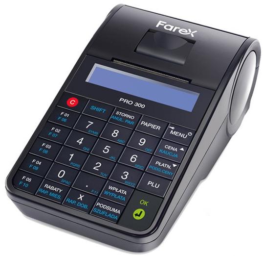 Online Farex Pro 300 Кассовый аппарат - аренда лизинга