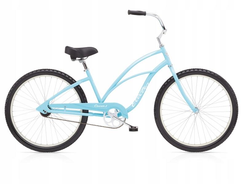Bicykel ELECTRA CRUISER 1 dámske urban modré