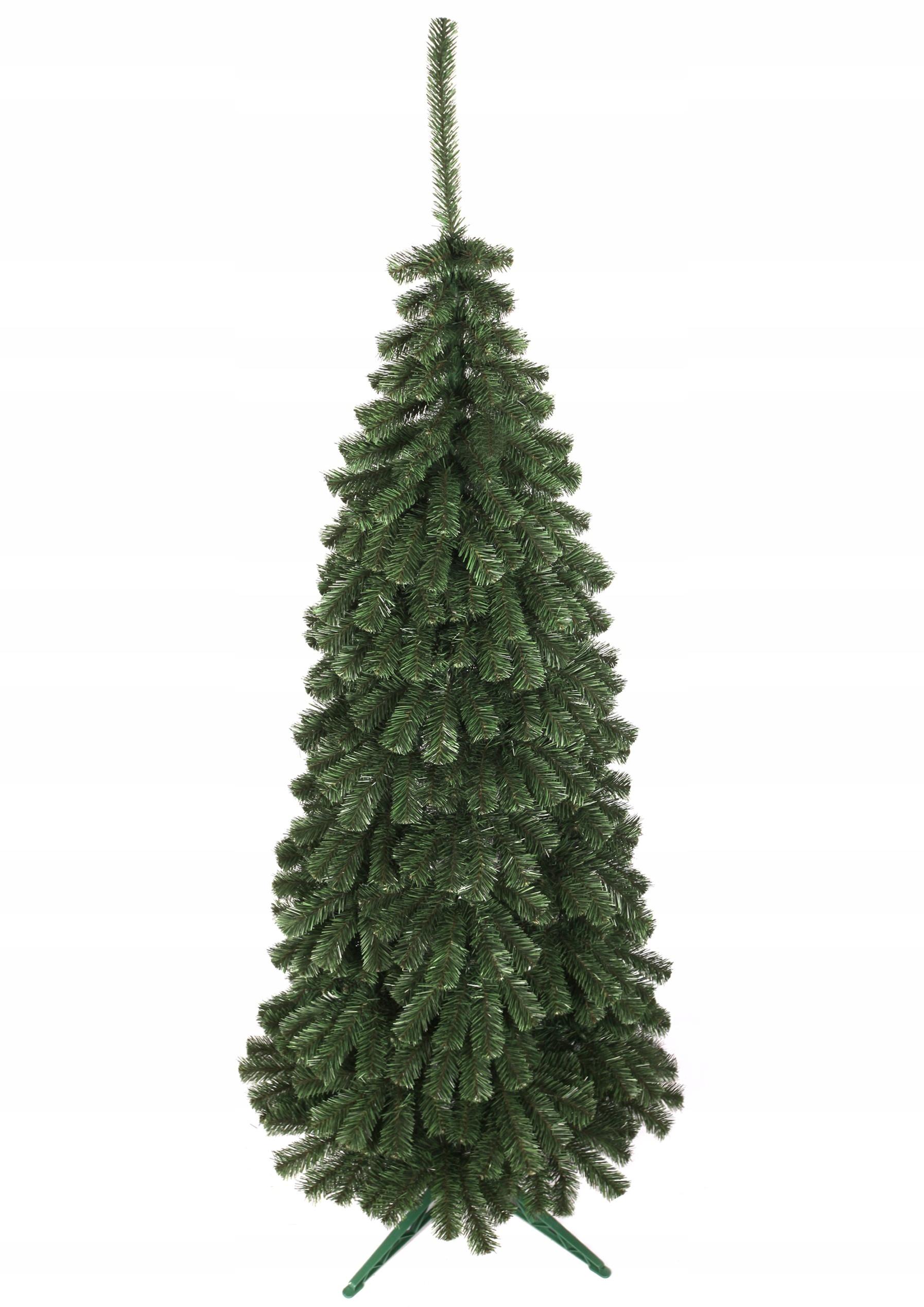 Umelý vianočný stromček TUJA 250CM + ÚZKA HUSTOTA NAŽIVO
