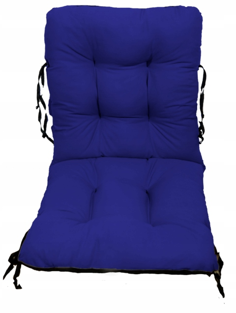 Садовое кресло подушка шезлонг 48x48x48 василек