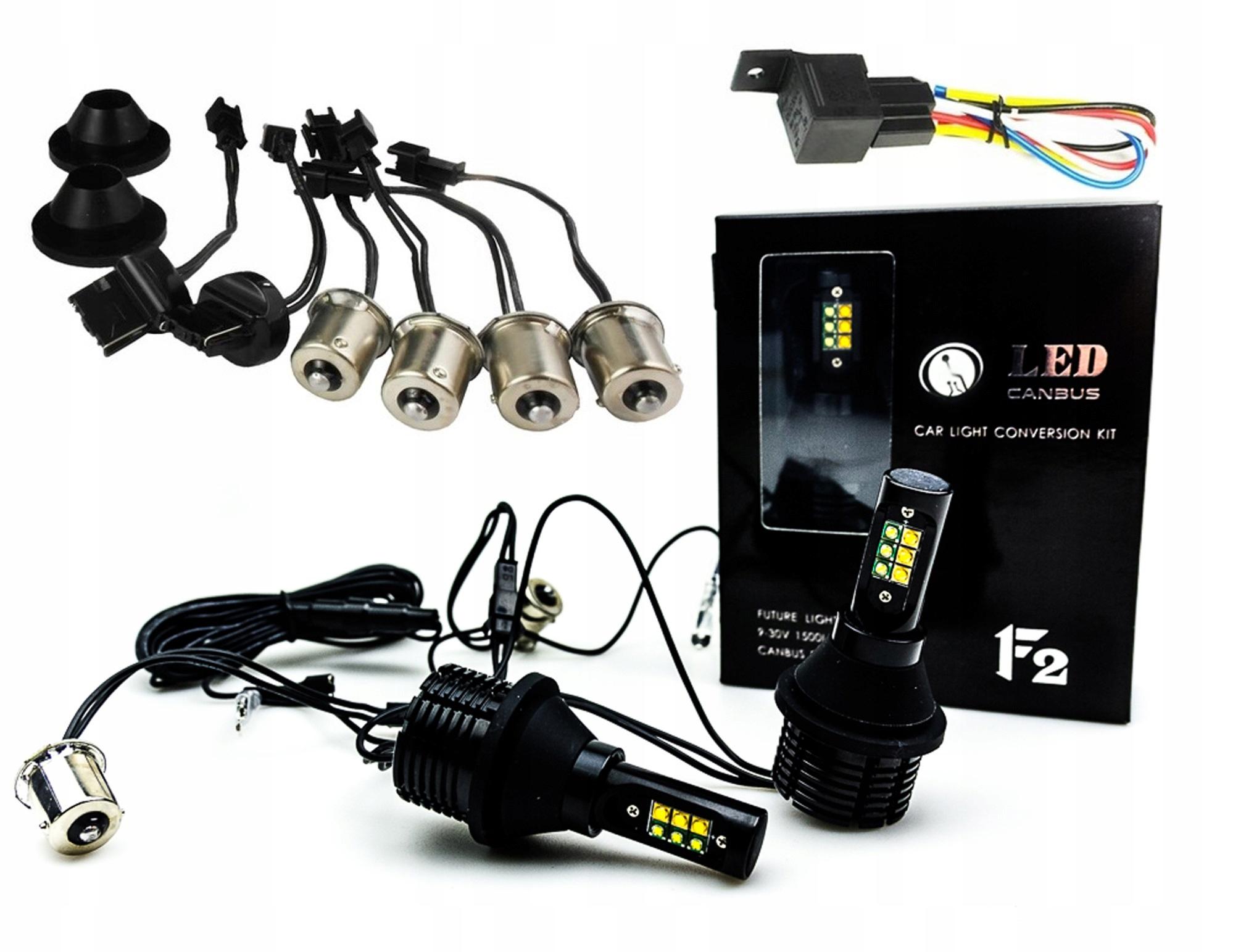 2w1 свет поворотники led drl p21w py21w w21w