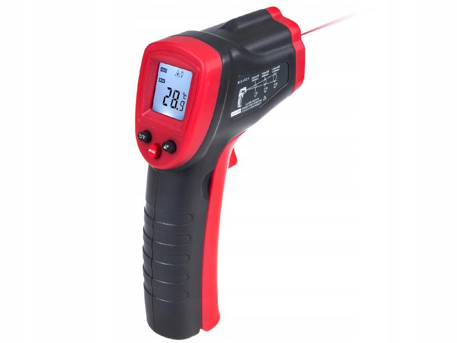 Pirometr Termometr Cyfrowy na Podczerwień Laserowy