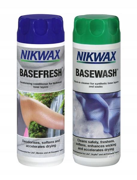 Nikwax BaseWash 300 мл + BaseFresh 300 мл
