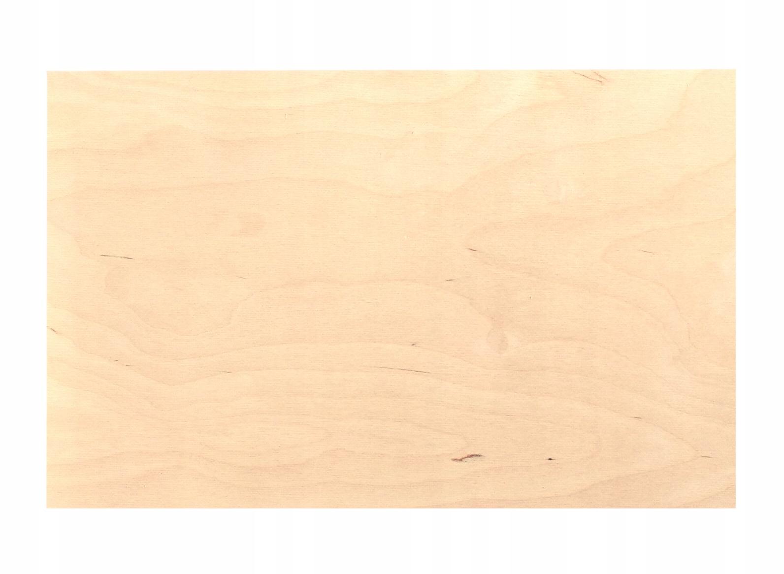 Фанера 3 ММ ФОРМА 30x50cm для ЛАЗЕРА с ЧПУ класс 2