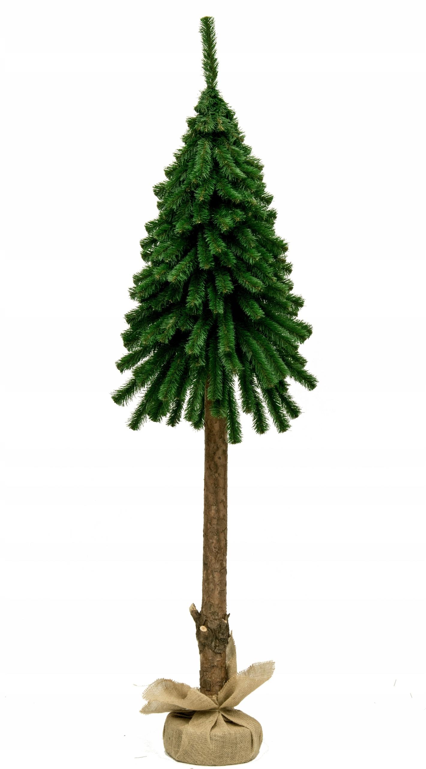 Moderný, umelý vianočný stromček na kufri 160 cm
