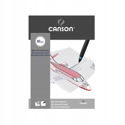 Item The Canson tracing paper Block A4 21x29,7 cm, 10 Sheets