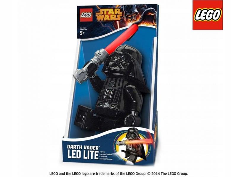LEGO STAR WARS Darth Vader LED LITE SVETLO! 20 cm!