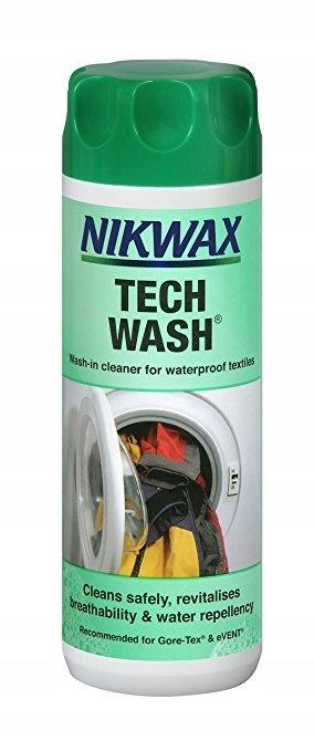 Nikwax Tech Wash 300 мл жидкость для стирки одежды