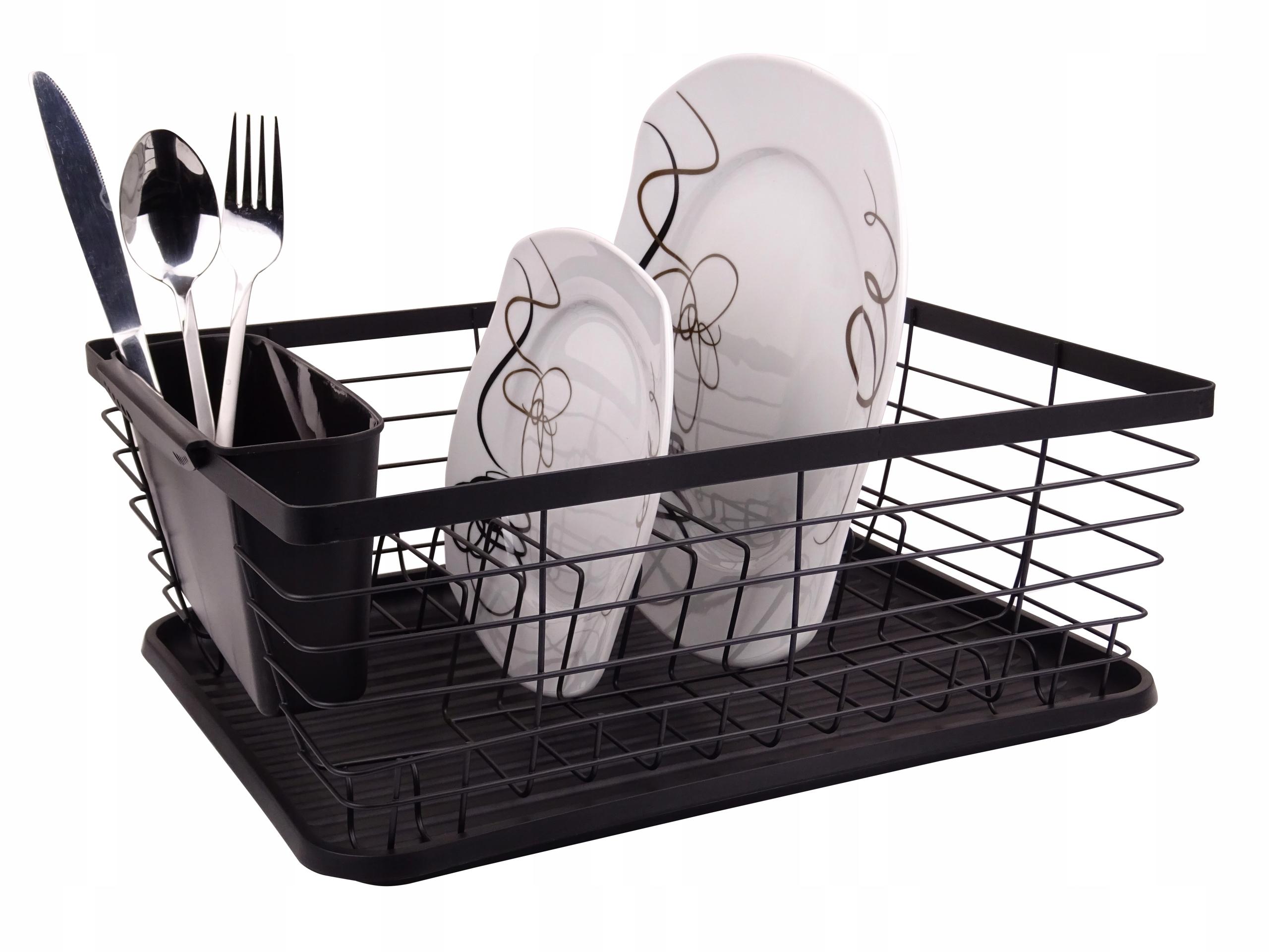 Сушилка Для Посуды Сушка ДЛЯ Посуды ЧЕРНАЯ 1483