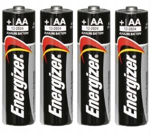 4x Baterie AA 1,5V Alkaline Energizer Power LR6 Marka Energizer