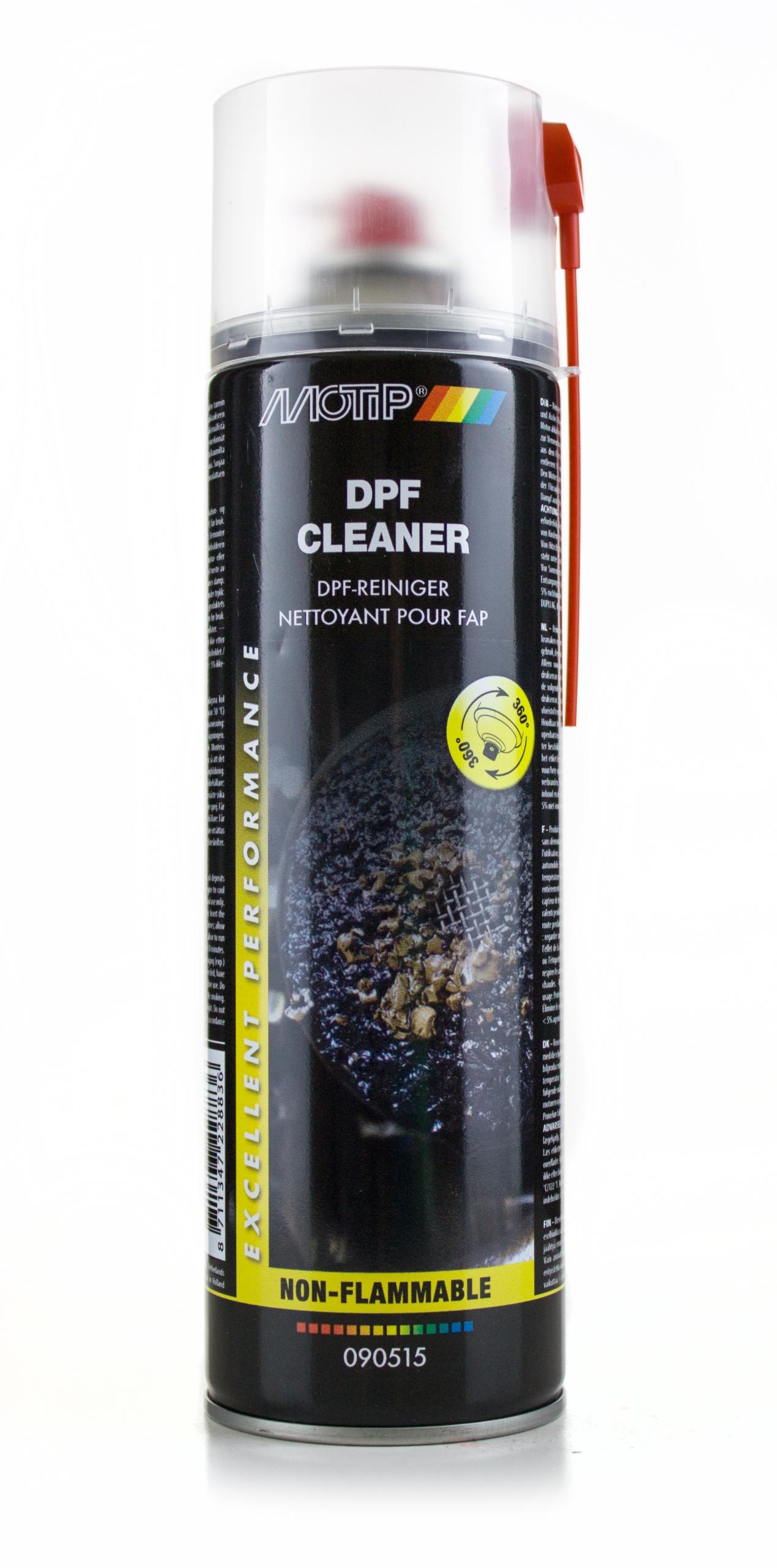 MOTIP DPF FAP средство для очистки фильтров