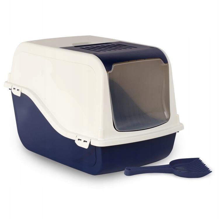 Комнатный ящик для кошачьих туалетов 57см ARIEL + фильтр + шпатель