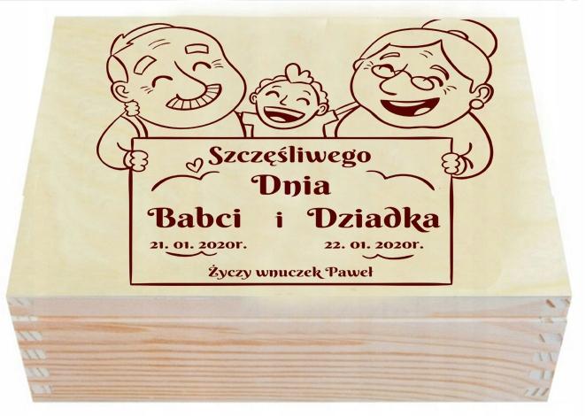 Купить Подарок Herbaciarka День Бабушки и Дедушки Гравер на Otpravka - цены и фото - доставка из Польши и стран Европы в Украину.