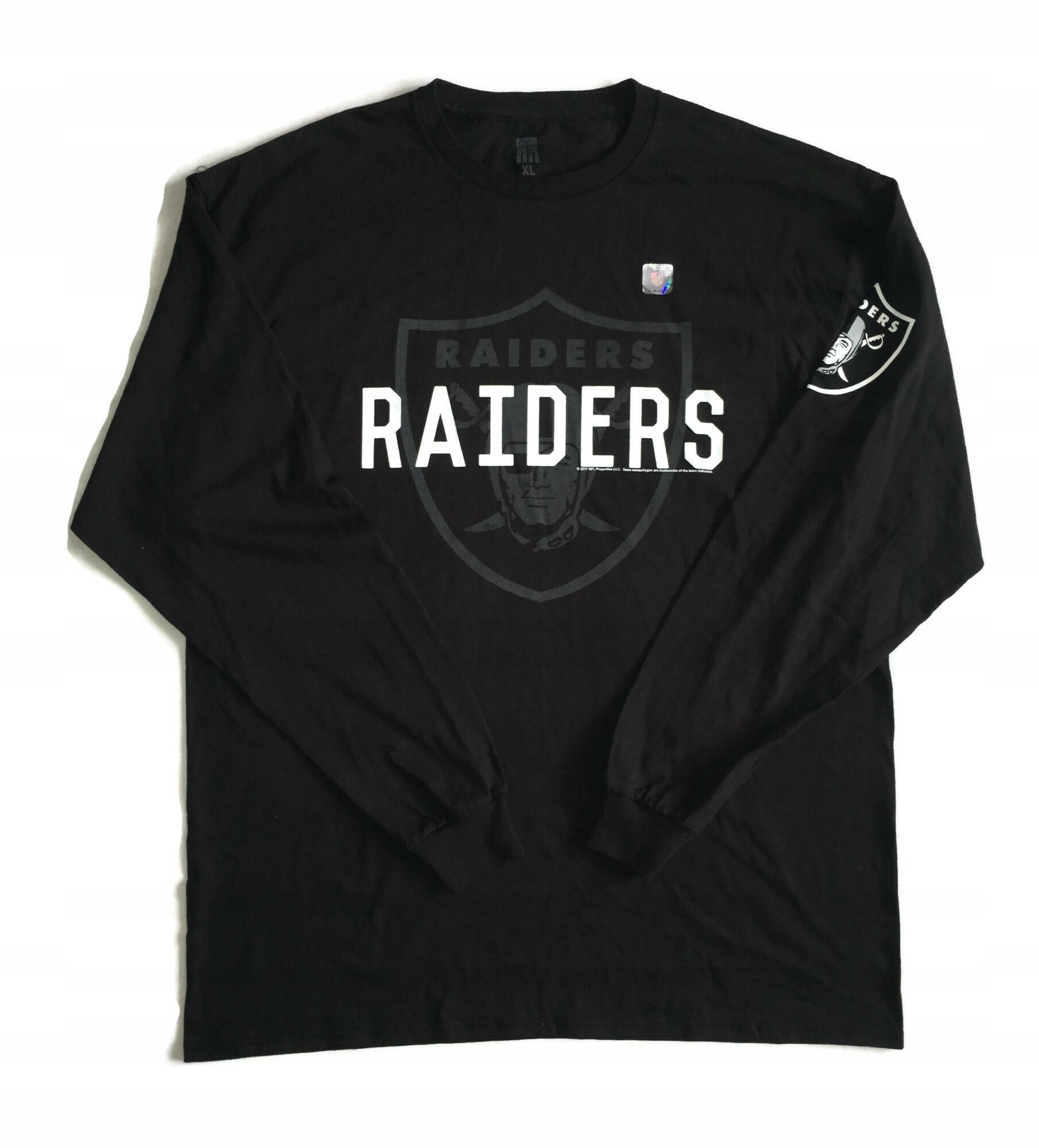 Футболка longsleeve Raiders NFL JunkFood XL