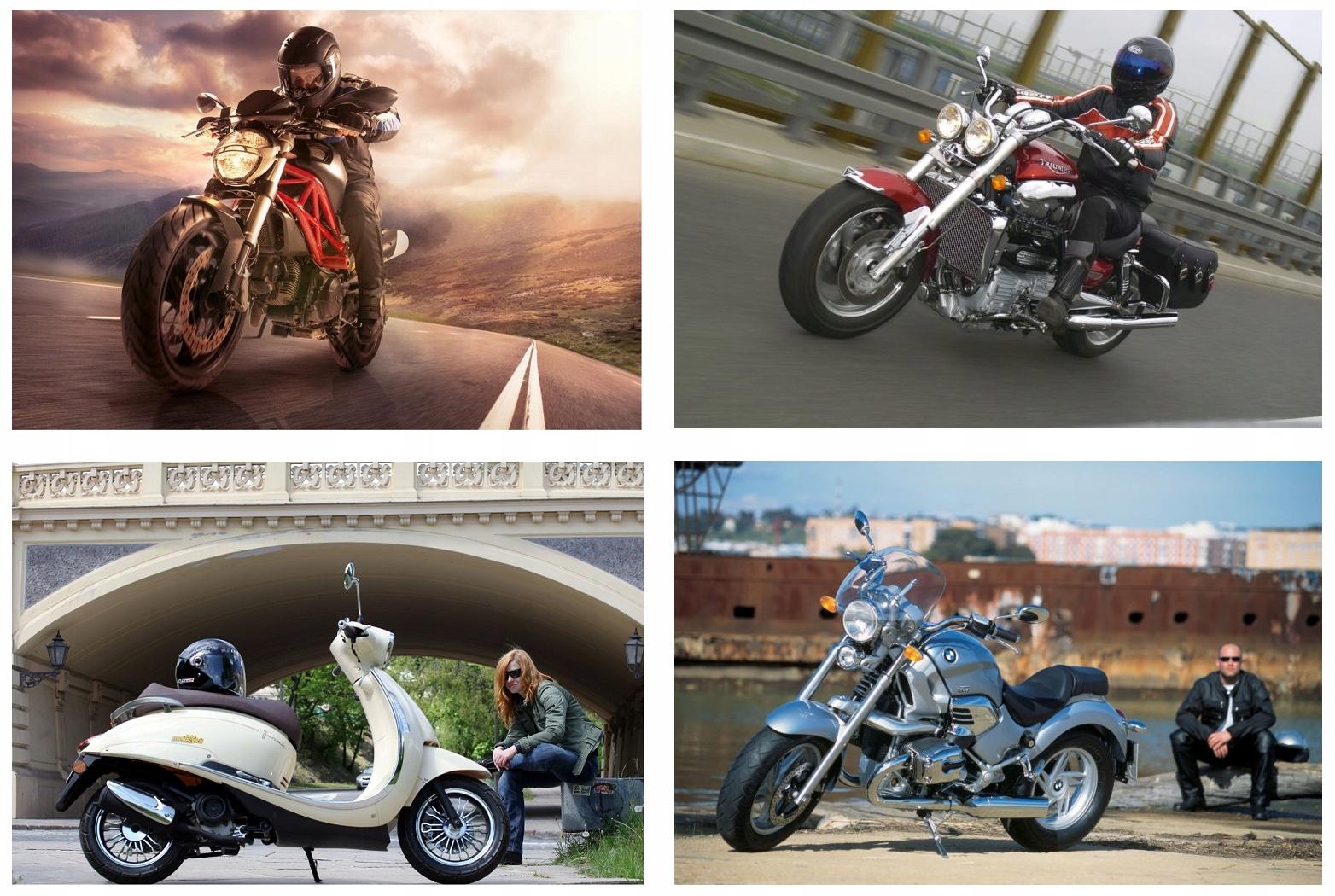 Перчатки chopper lato мотоциклетные кожаное motor, фото 6