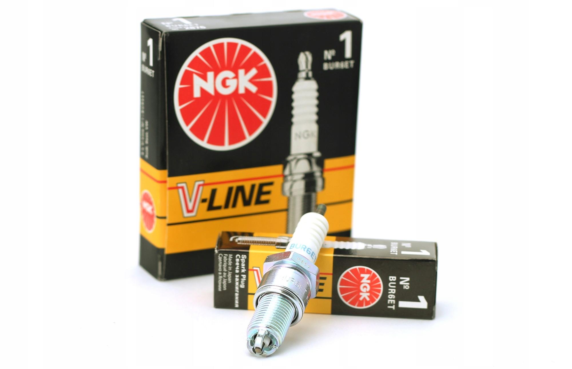 Свеча зажигания ngk v-line 1 bur6et 2876