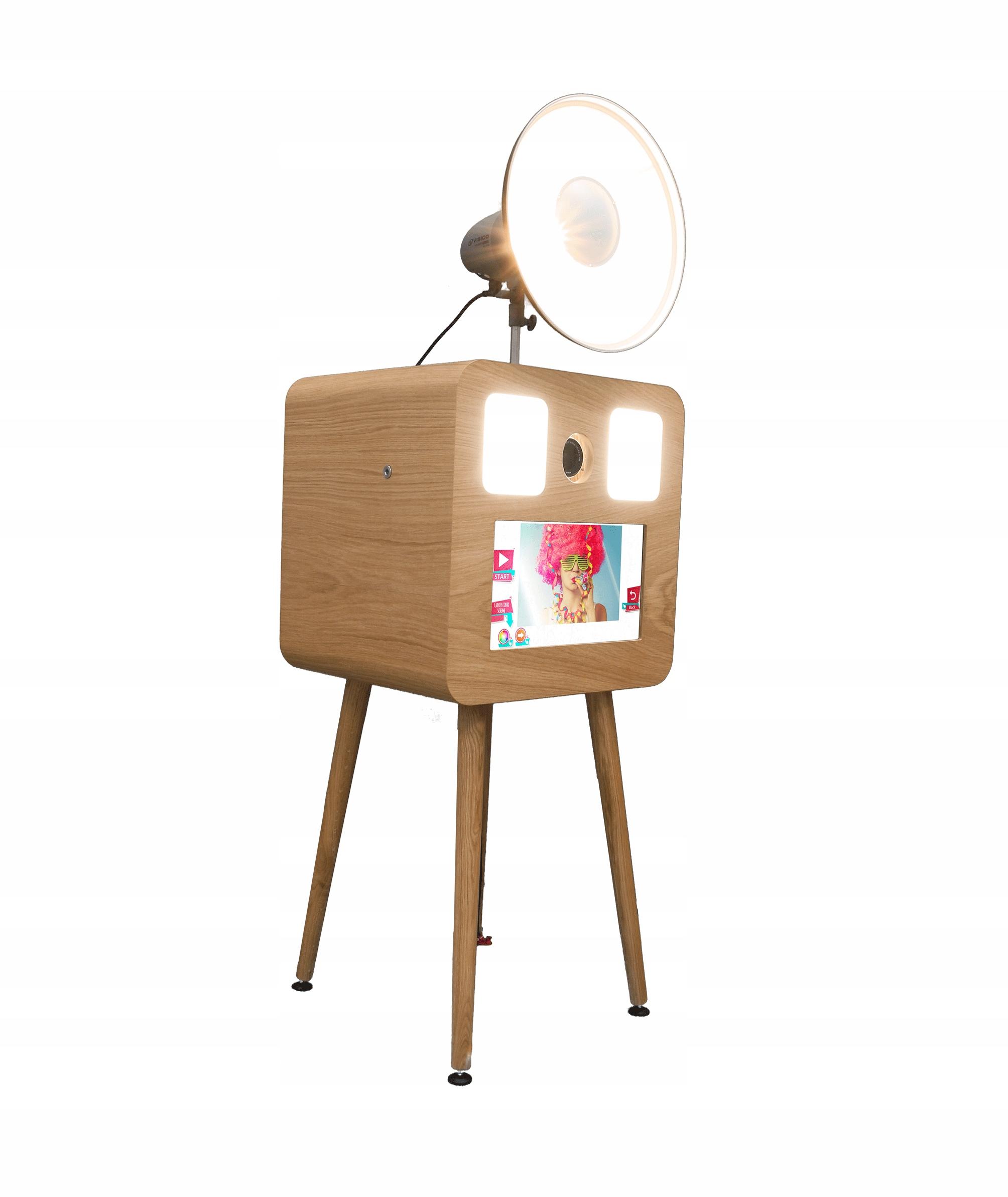 Drevená fotobúdka SMOVE FBOX RETRO