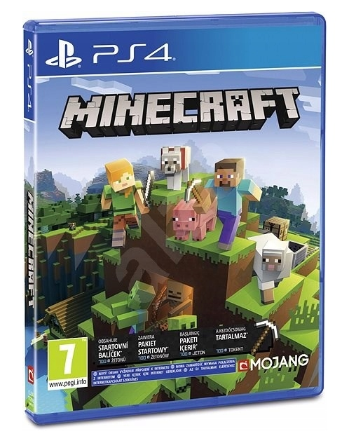 Item New Game Minecraft PS4 + extras