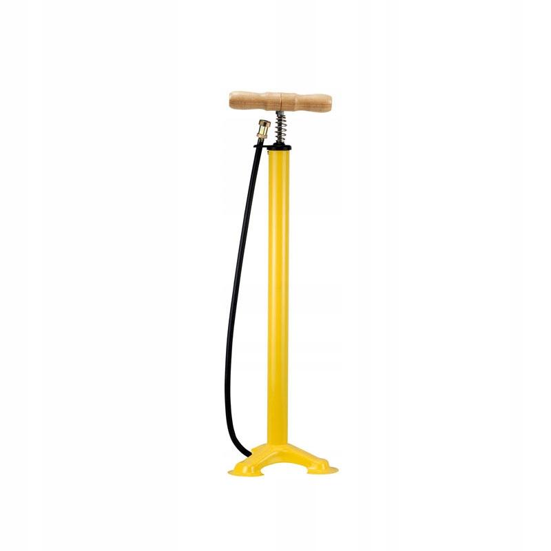 Retro pumpa na bicykel, ventil do auta Žltá