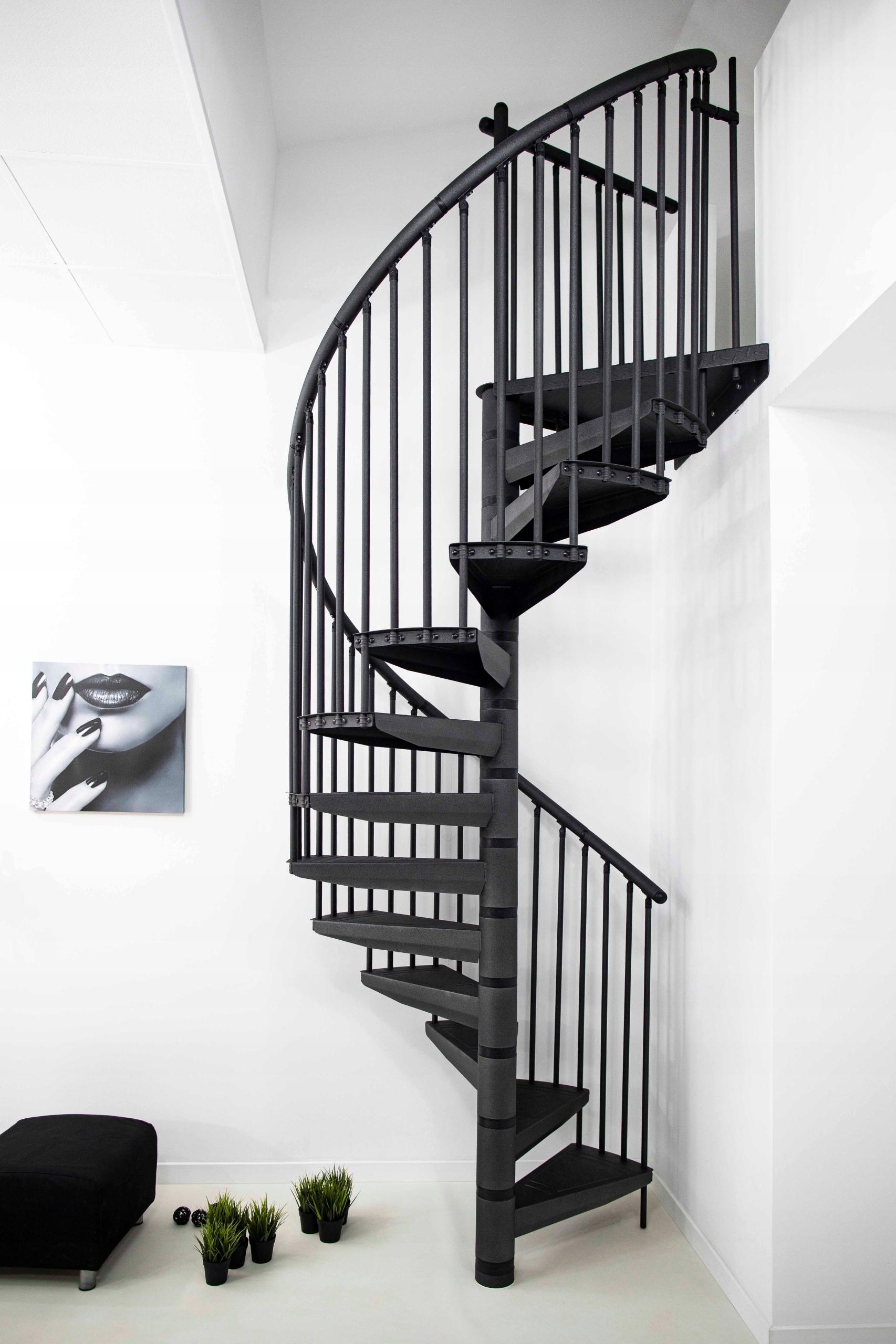 Винтовая винтовая лестница LOFT RONDO COLOR Ø120 см