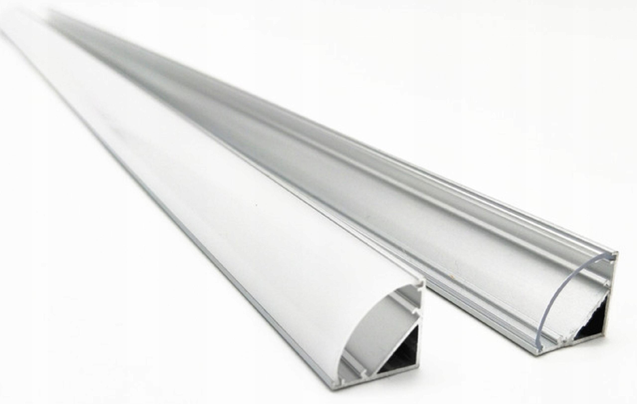 ПРОФИЛЬ для ленты LED Угловой угловой alu 2m + быстрая