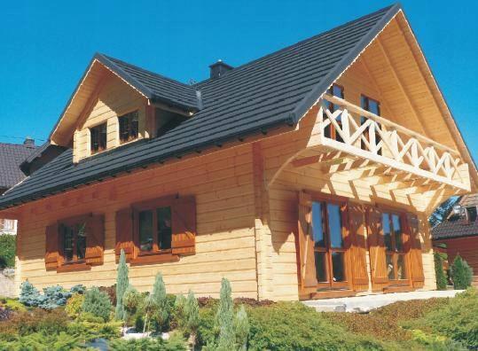 Domy drewniane z bala