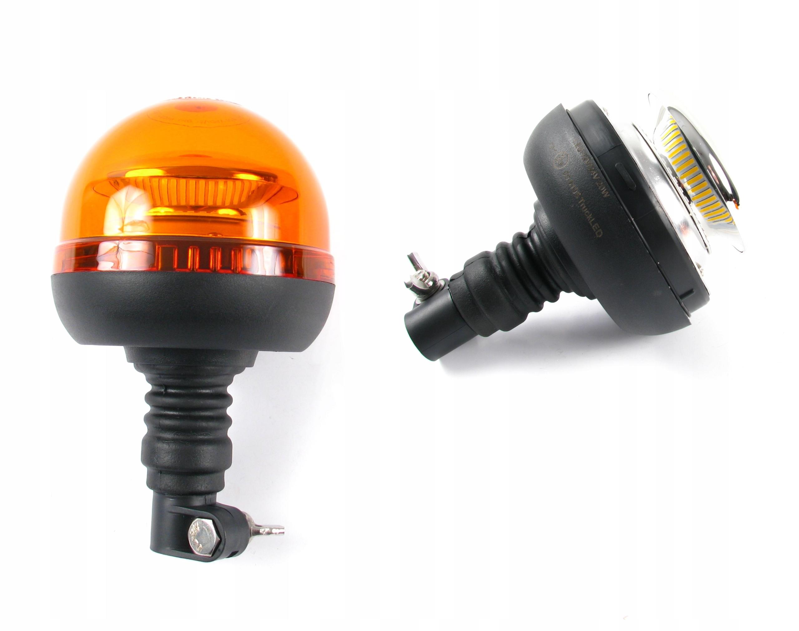 лампа предупреждения петух led 40w 12-24v на шток