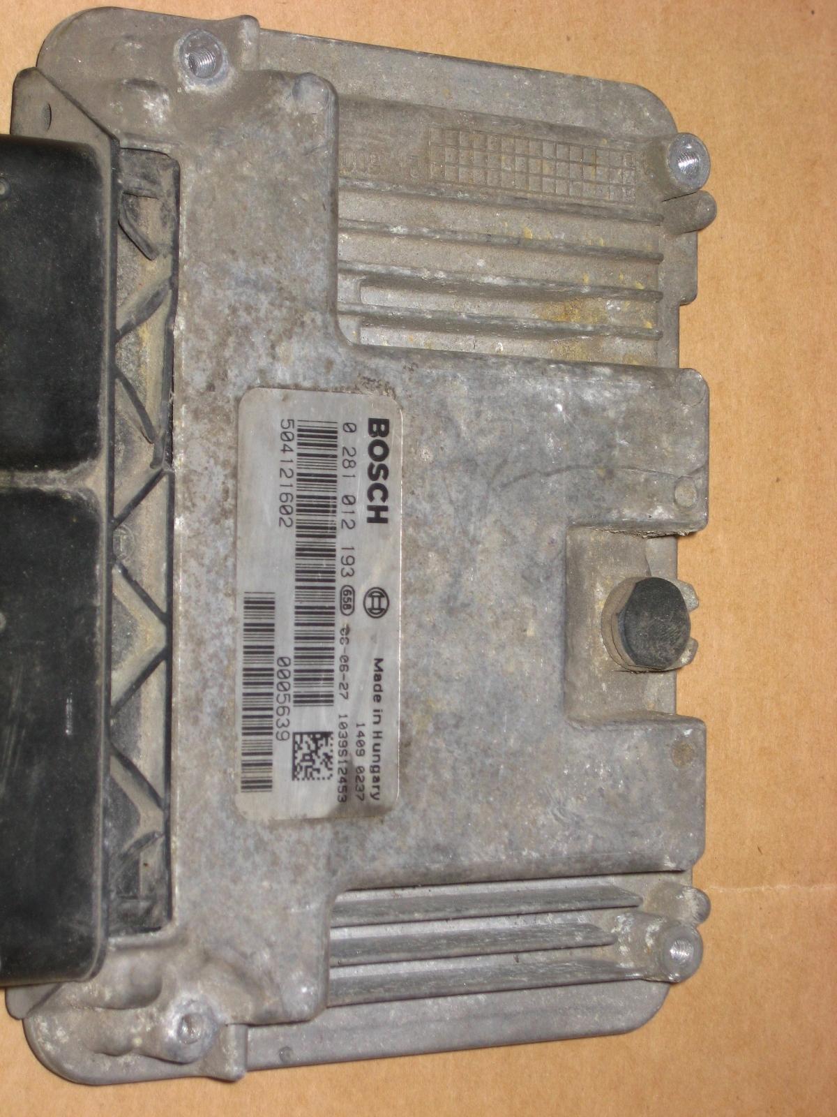 0281012193 компьютер iveco 23 30 программирование