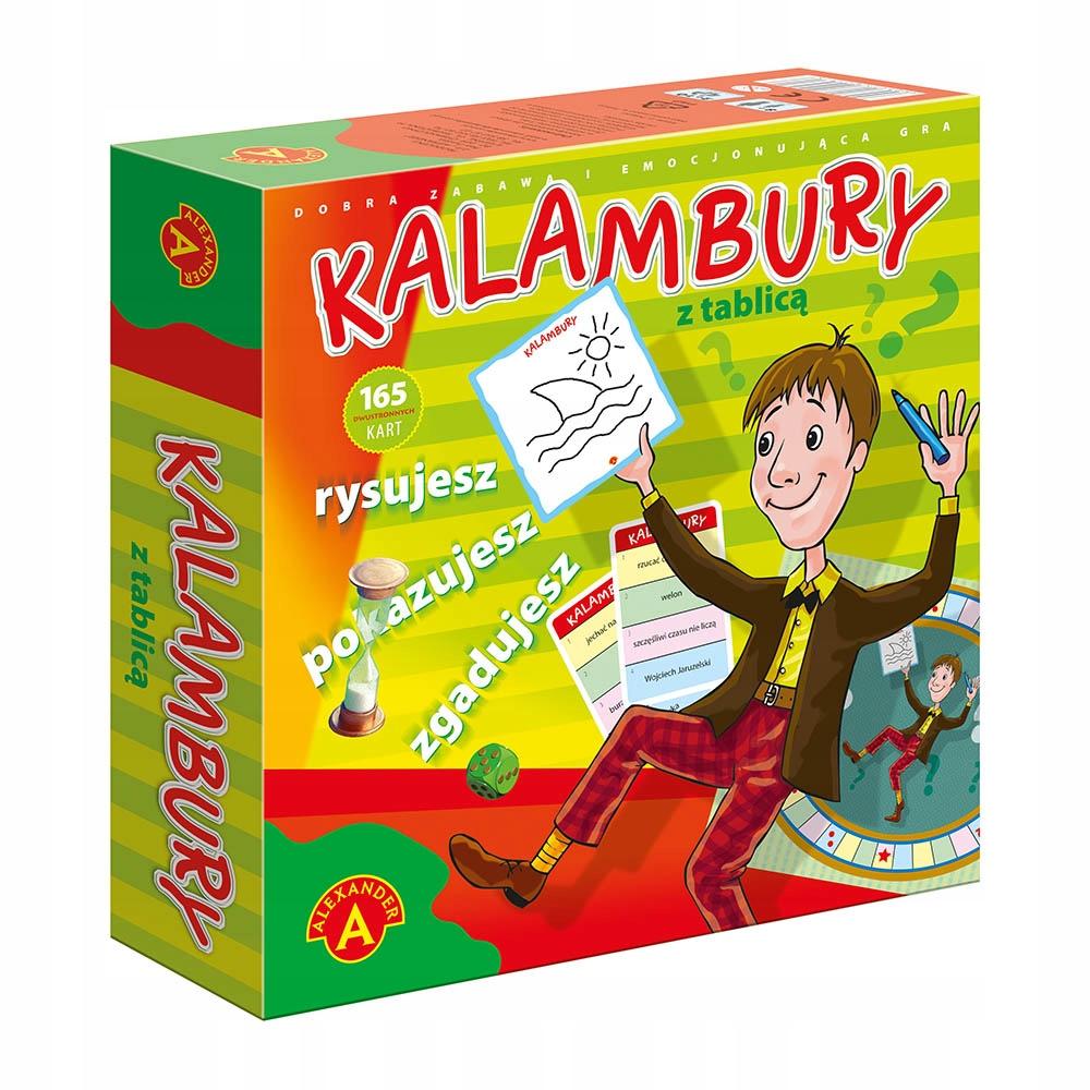 Hra pre deti KALAMBURY + DRY BOARD