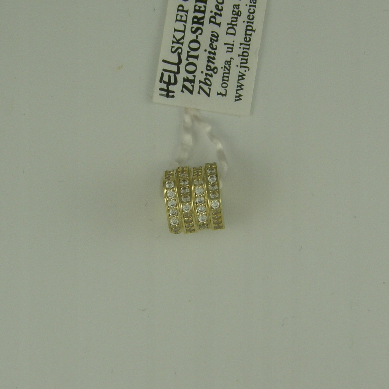 Zlatý medailón prívesky, zliatiny 0,585