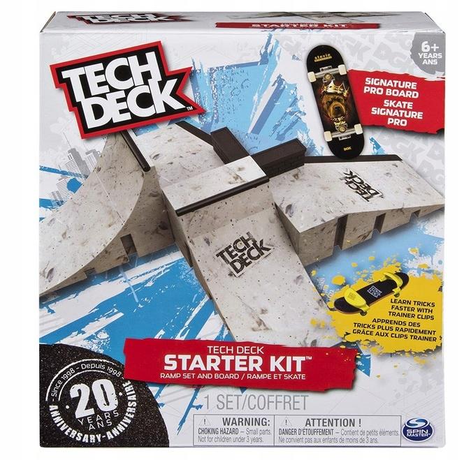Tech Skatepark Fingerboard Starter Kit