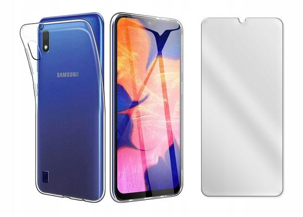 Etui Przezroczyste do Samsung Galaxy A10 + Szkło