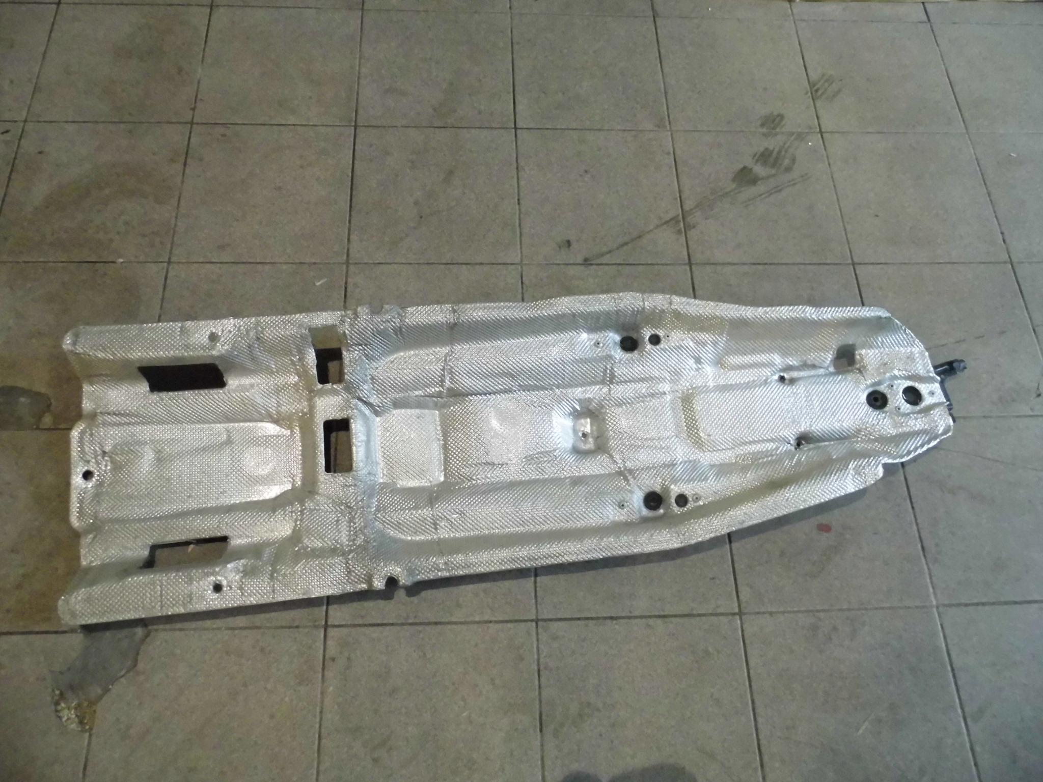 fiat 500x 14 t-jet 2014- оболочка термическая туннель