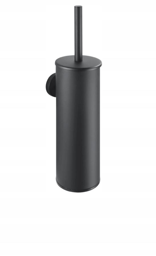 Vysoko zavesená WC kefa Stella CLASSIC čierna