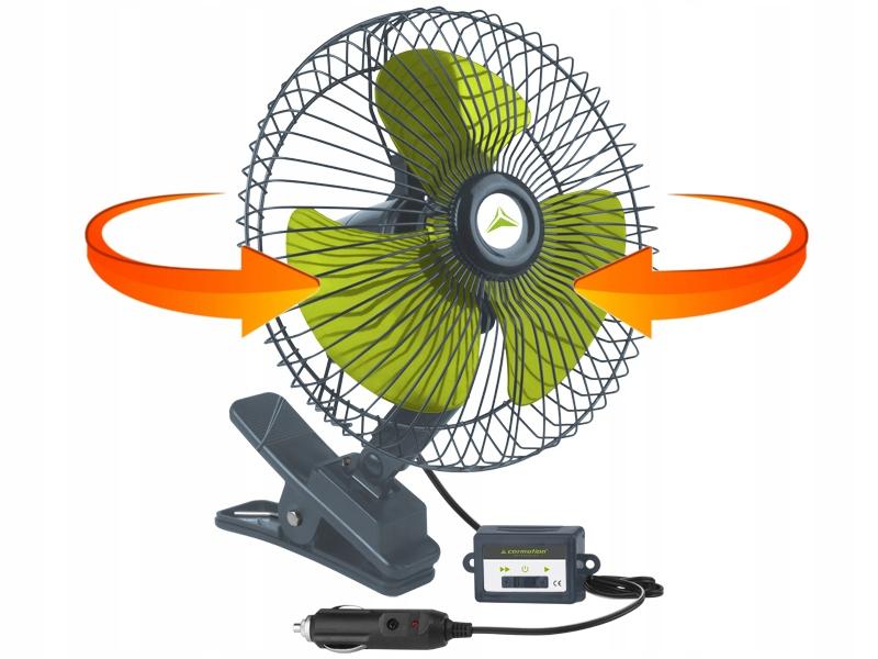 Вентилятор вентилятор 24v tir автомобиля поворотный зажим (фото 1) | Автозапчасти из Польши