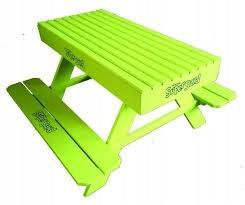 Super Sand Piasek - drevená lavica - stôl GOLIATH