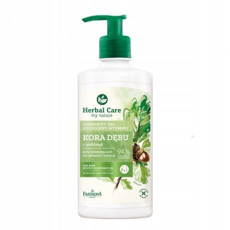 Herbal Care Гель Для Интимной Гигиены Кора Дуба 330