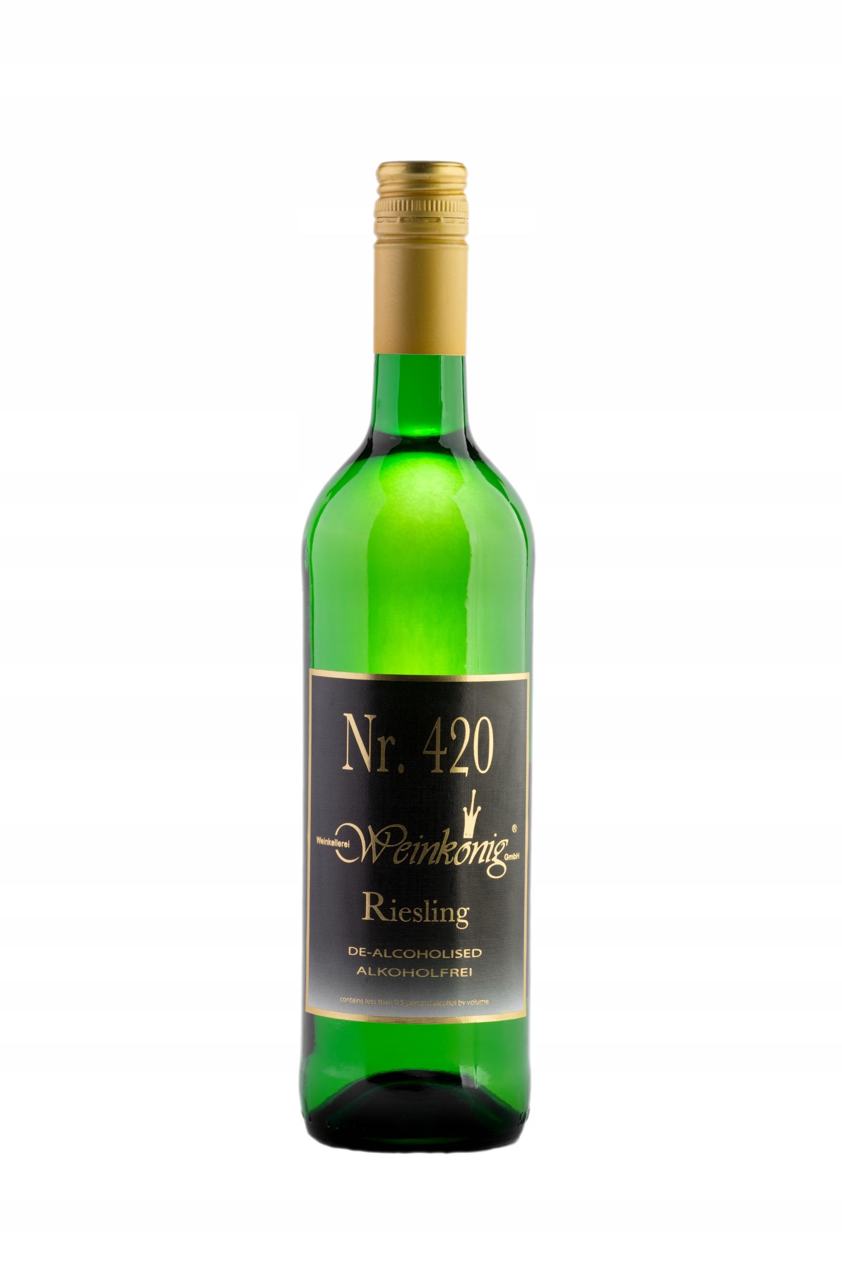 420 RIZLING rýnsky - biele suché nealkoholického vína