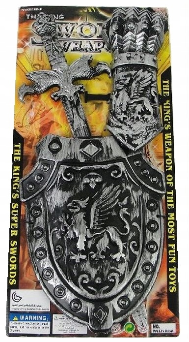 Купить Набор Рыцаря Рыцарь Меч Щит Король Королю на Otpravka - цены и фото - доставка из Польши и стран Европы в Украину.