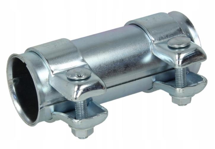Соединитель разъем глушителя труб выдохе зажим 43x125mm