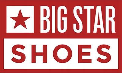 Trampki Big Star r.38 niskie czerwone Red DD274686