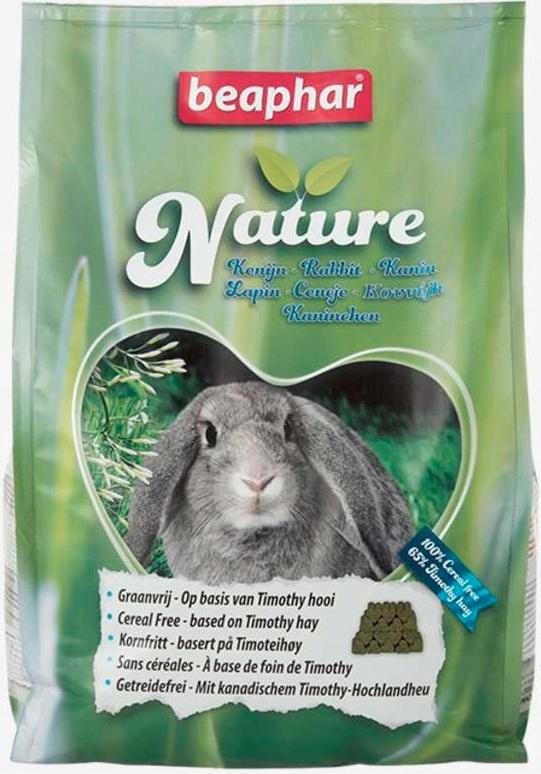 Beaphar Nature Rabbit 3 кг кролик