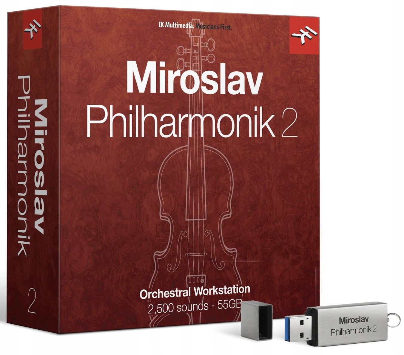 IK Multimédia Miroslav Philharmonik 2 Crossgrade