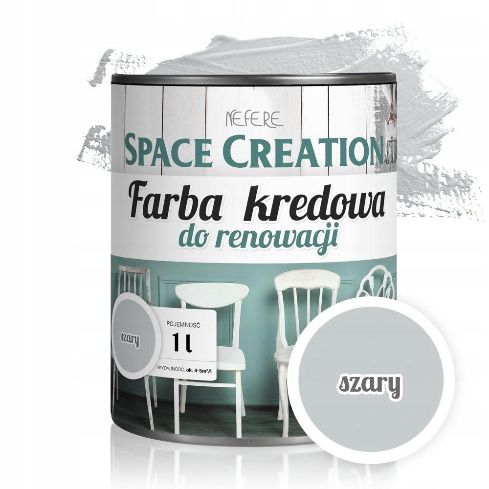 СЕРЫЙ мебельный лак для ремонта Space Creation